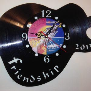 Cadou ceas de perete Guitar friendship