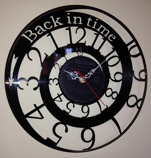 Cadou ceas care merge in sens invers